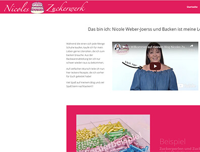 Nicoles Zuckerwerk Blog