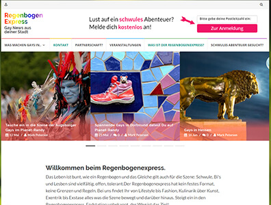 Regenbogen Express Gay Community
